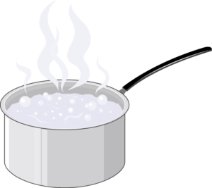 Casserole eau