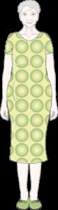 Femme 65 habillée