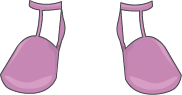femme maigre chaussures