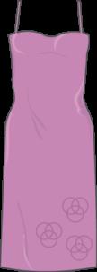 Femme maigre robe