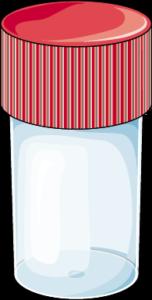 Flacon urine