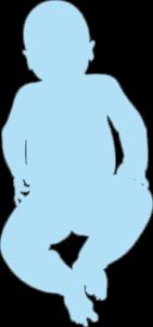 Silhouette bébé