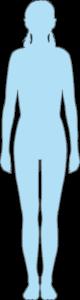 Silhouette femme 15