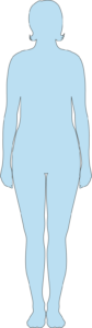 Silhouette femme 45