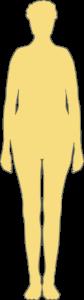 Silhouette femme 65