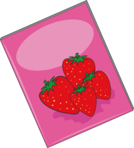 brochure strawberry
