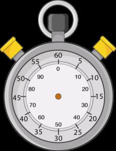 Chronomètre aiguille